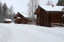 Зима в русской деревне