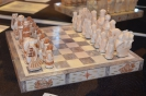 Резьба по кости. Шахматы «Петровские времена»